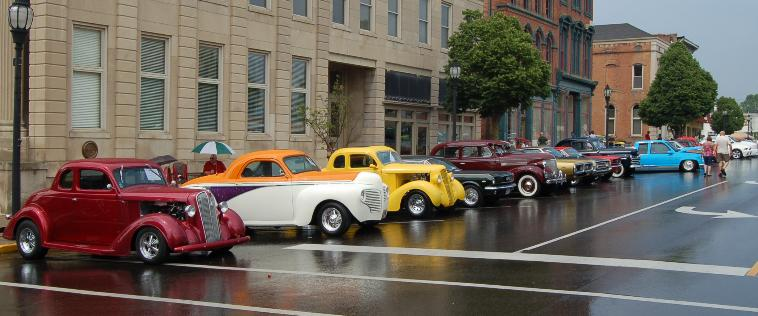 Cruzin Henderson Car Show Photos Kentucky - Car show kentucky